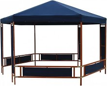 vidaXL Party tent blue