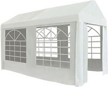 vidaXL Party Tent PE 2x4 m White - White