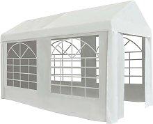 vidaXL Party Tent PE 2x4 m White
