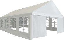vidaXL Party Tent PE 5x8 m White