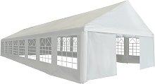 vidaXL Party Tent PE 6x16 m White