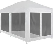 vidaXL Party Tent with 6 Mesh Sidewalls 6x3 m -