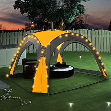 vidaXL Party Tent with LED and 4 Sidewalls