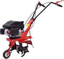 vidaXL Petrol Cultivator Tiller 5 HP 2.8 kW Red