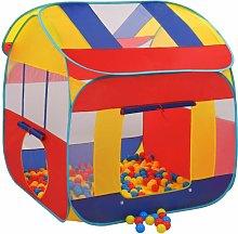 vidaXL Play Tent with 300 Balls XXL - Multicolour