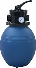 vidaXL Pool Sand Filter with 4 Position Valve Spa