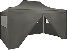 vidaXL Professional Folding Party Tent with 4