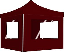 vidaXL Professional Folding Party Tent with Walls