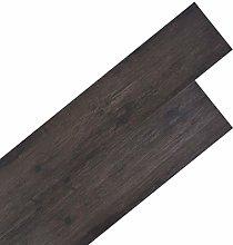 vidaXL PVC Flooring Planks Building Material Easy