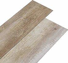vidaXL PVC Flooring Planks Home Kitchen Living