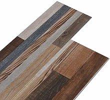 vidaXL PVC Flooring Planks Living Room Building