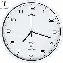 vidaXL Radio Controlled Wall Clock with Quartz