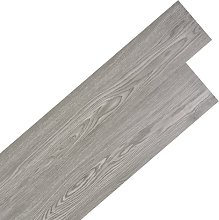 vidaXL Self-adhesive PVC Flooring Planks 5.02 m² 2 mm Dark Grey