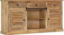 vidaXL Side Cabinet 160x38x80 cm Solid Mango Wood
