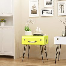 vidaXL Side Cabinet 49.5x36x60 cm Yellow