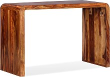 vidaXL Sideboard/Desk Solid Sheesham Wood Brown