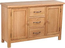 vidaXL Sideboard with 3 Drawers 110x33.5x70 cm