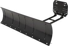 vidaXL Snow Plough for ATV 150x38 cm Black