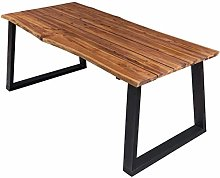 vidaXL Solid Acacia Wood Dining Table Wooden