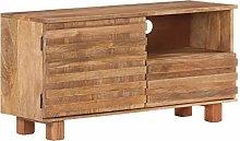 vidaXL Solid Mango Wood TV Cabinet Bedroom
