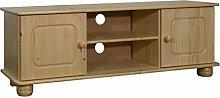 vidaXL Solid Pine Wood TV Cabinet Living Room