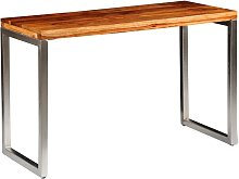 vidaXL Solid Sheesham Wood Dining Table Office