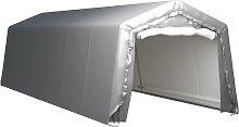 vidaXL Storage Tent 300x900 cm Steel Grey