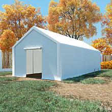 vidaXL Storage Tent PE 4x8 m White