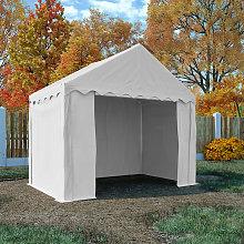 vidaXL Storage Tent PVC 3x2 m White