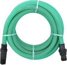 vidaXL Suction Hose with PVC Connectors 4 m 22 mm
