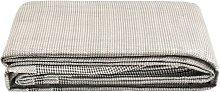 vidaXL Tent Carpet 350x250 cm Dark Grey - Grey
