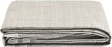 vidaXL Tent Carpet 700x250 cm Dark Grey - Grey