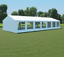 vidaXL Tent Fabric 6x14 m White
