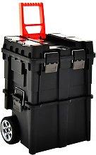 vidaXL Tool Organiser Trolley with Handle 46x36x41