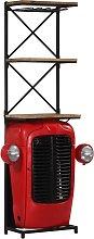 vidaXL Tractor Wine Cabinet 49x32x183 cm Solid