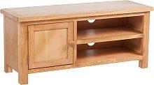 vidaXL TV Cabinet 103x36x46 cm Solid Oak Wood
