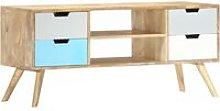 Vidaxl - TV Cabinet 110x35x48 cm Solid Mango Wood