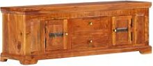 Vidaxl - TV Cabinet 119x30x40 cm Solid Acacia Wood