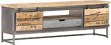 vidaXL TV Cabinet 120x30x40 cm Solid Mango Wood