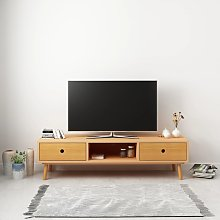 vidaXL TV Cabinet 120x35x35 cm Solid Pinewood