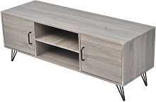 vidaXL TV Cabinet 120x40x45 cm Grey