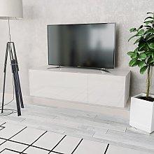 vidaXL TV Cabinet Chipboard 120x40x34 cm High