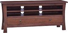 vidaXL TV Cabinet Classical Brown 100x30x45 cm