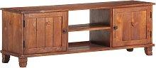 vidaXL TV Cabinet Honey Brown 120x30x41 cm Solid