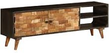 Vidaxl - TV Cabinet Solid Mango Wood 140x30x45 cm