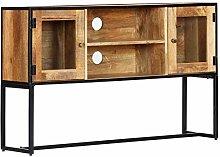 vidaXL TV Cabinet Solid Reclaimed Wood Home HiFi