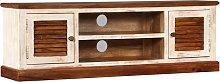 vidaXL TV Cabinet Solid Sheesham Mango Wood