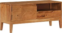 vidaXL TV Cabinet Solid Wood 88x30x40 cm