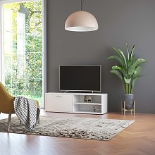vidaXL TV Cabinet White 120x34x37 cm Chipboard