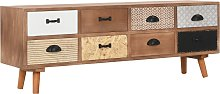 vidaXL TV Cabinet with 8 Drawers 120x30x40 cm